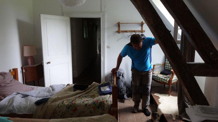 Notre chambre chez Madame Mativon