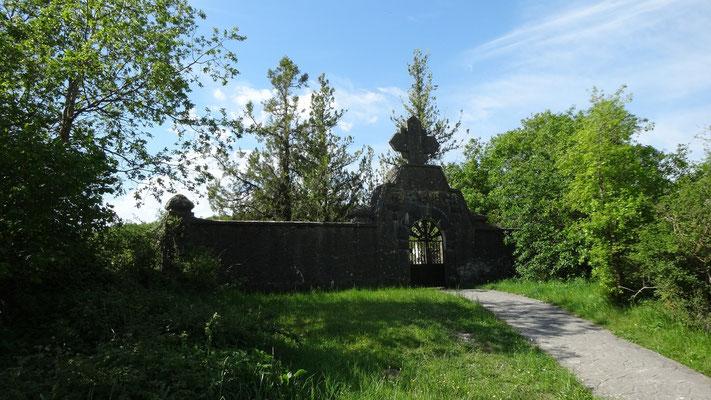 Entrée du cimetière de Aurizberri/Espinal