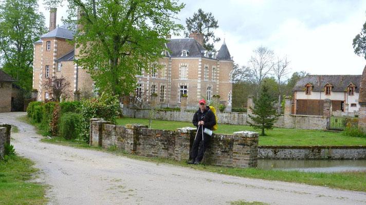 29-04-2012 - Montrieux en Sologne - Le chateau du Mesnil