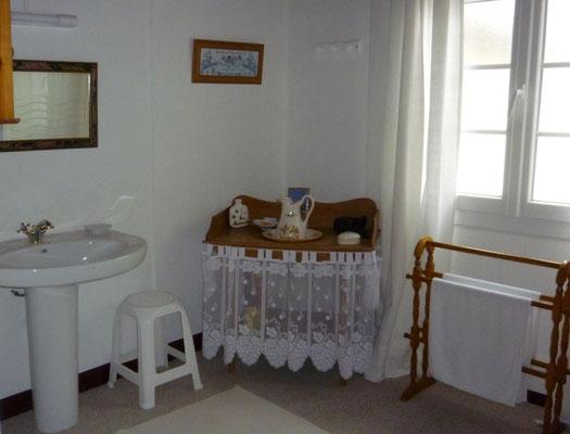 La maison du bois - Notre salle de bain
