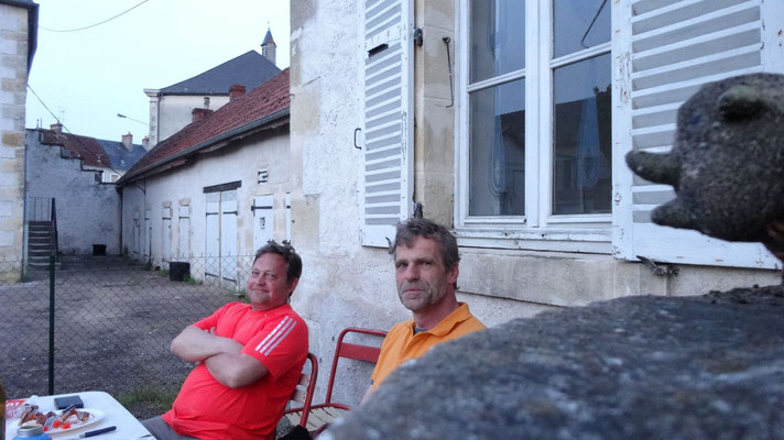 Thierry et Hans