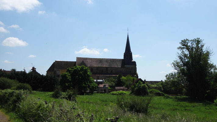 Châteaumaillant - L'église