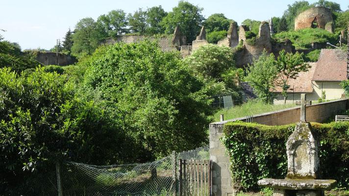 Cluis - La forteresse