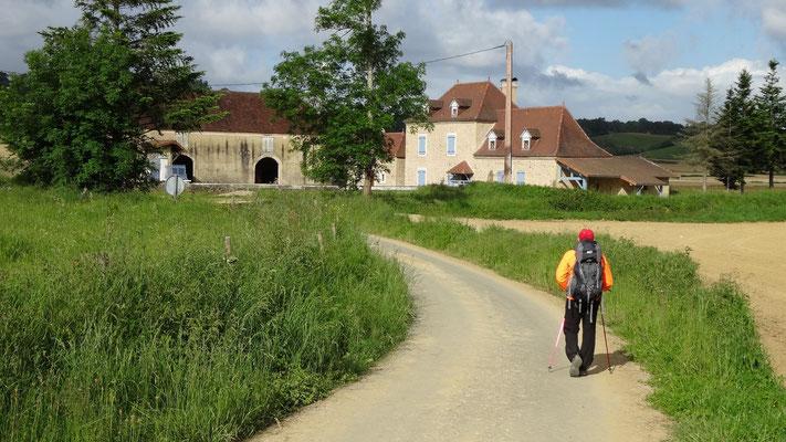 Philippe arrivant au moulin de Louvigny