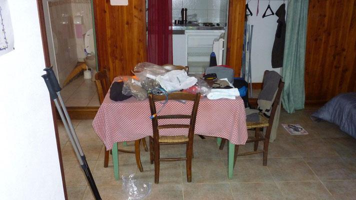 La Cassagnole - Notre studio..un peu en désordre
