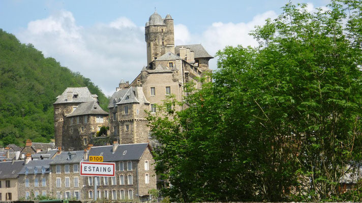 Estaing - Le chateau