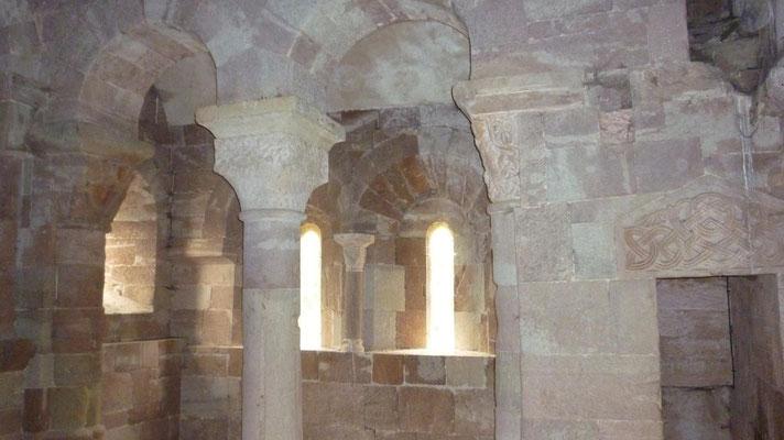St Pierre de Bessuéjouls - La chapelle aérienne
