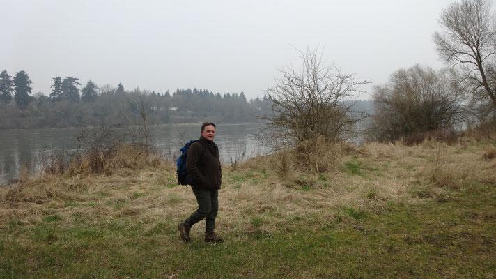 Thierry sur les bords de Loire