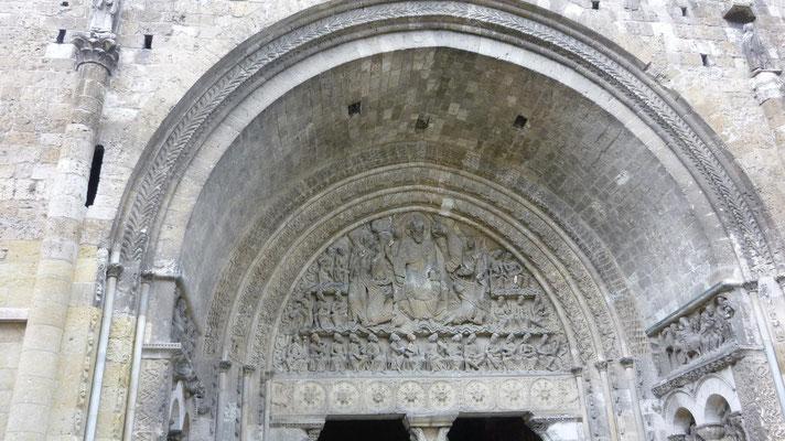 Le Tympan de l'abbatiale Saint Pierre de Moissac