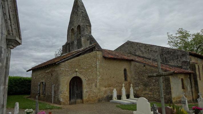 L'église d'Arzacq