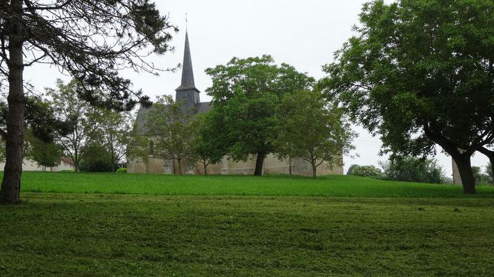 L'église d'Arcenais