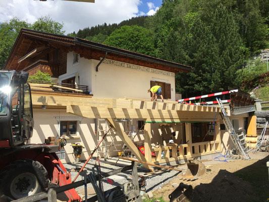 Anbau Garage Klosters