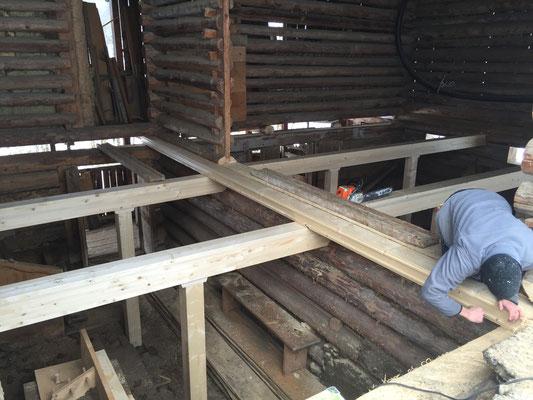 Alter Stallboden ersetzen Klosters
