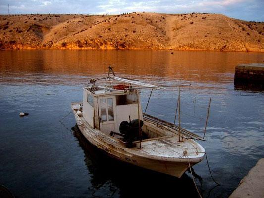 Foto von 2005 mit JAKUMO DIGITAL KAMERA: Insel Rab - Am Fährhafen in Lopar