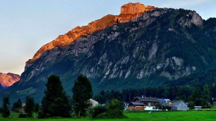 Kanisfluh von Norden aus dem Gebiet Mellau-Hinterbündt