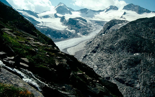 Obersulzbachkees vom Weg zur Kürsingerhütte