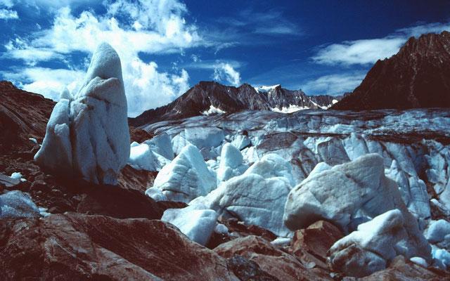 Eine bizarre Trümmerwelt aus Eis
