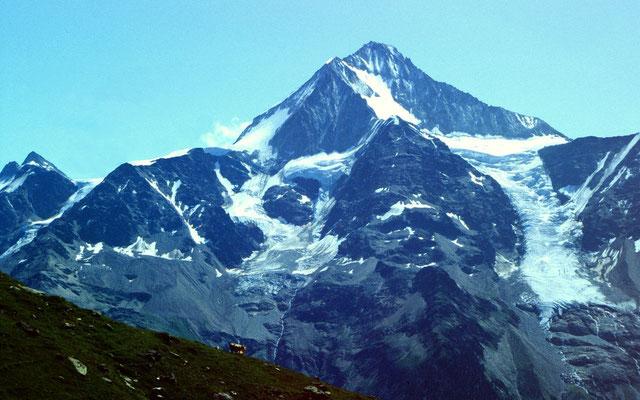 Das 3934 m hohe Bietschhorn
