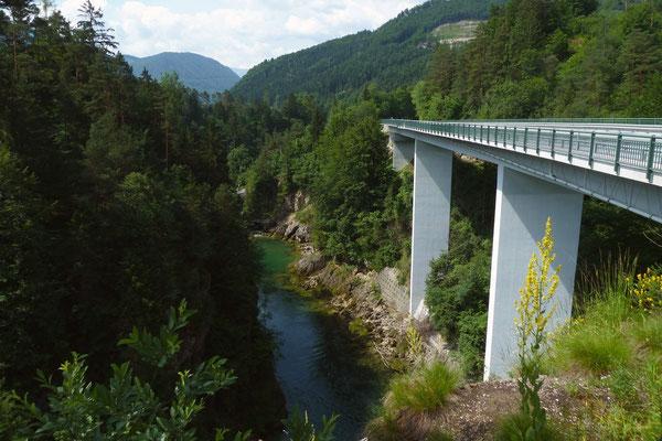 Autobrücke am Steyrdurchbruch