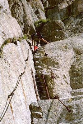Klettersteig Les Egralets zur Couverclehütte