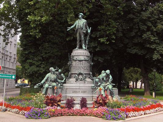 Werndl-Denkmal in Steyr