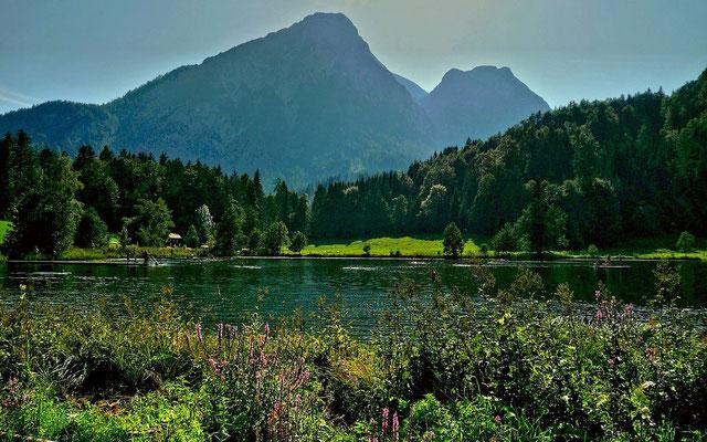 Sommersbergsee gegen Sarstein