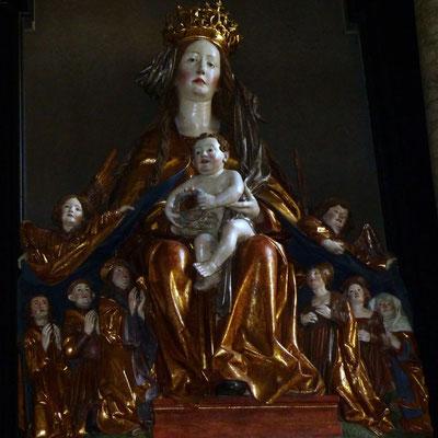 Schutzmantelmadonna in der Wallfahrtskirche Frauenstein