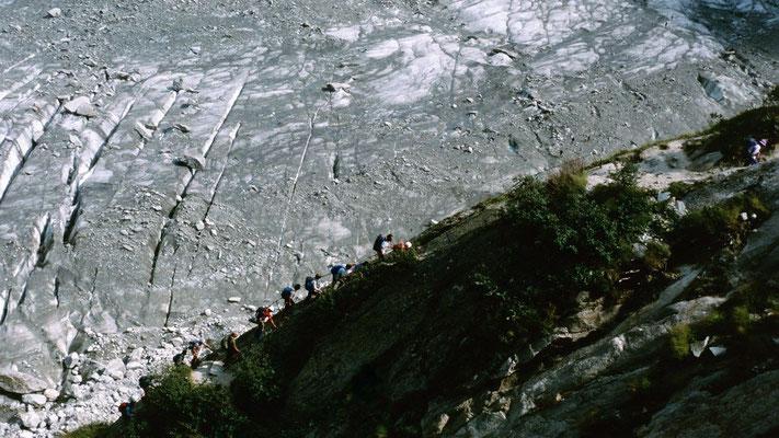 Klettersteig Les Echelles