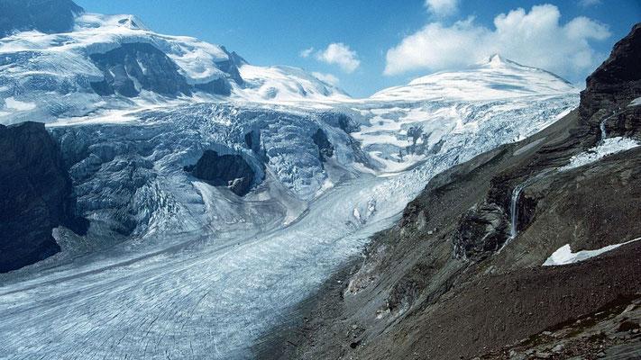 Das Elschbergl - ein großartiger Schauplatz im Gletscherzirkus der Pasterze