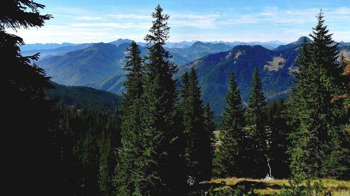 Walchenseer und Tegernseer Berge