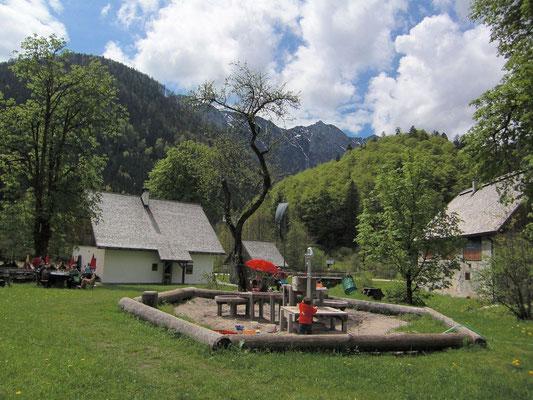 Jausenstation Jagahäusl im Bodinggraben