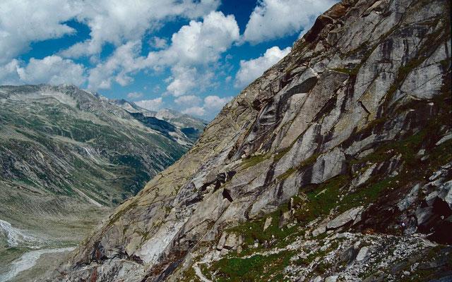 Weg zwischen Kürsinger Hütte und Obersulzbachtal