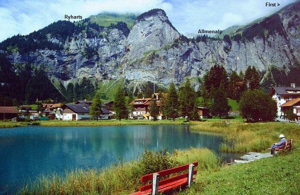 Am kleinen See in Kandersteg