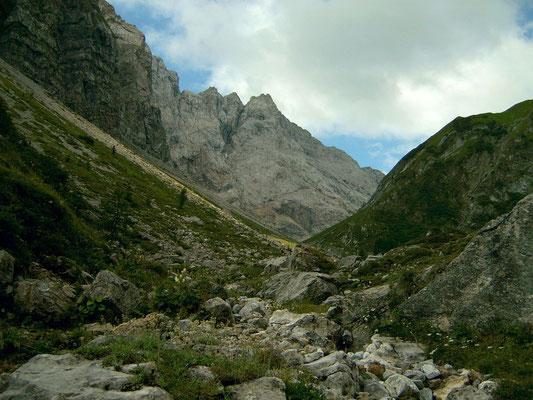 Gebiet der oberen Valentinalm
