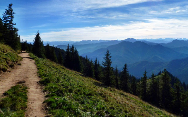 Olperer vom Rückweg zur Taubensteinbahn-Bergstation