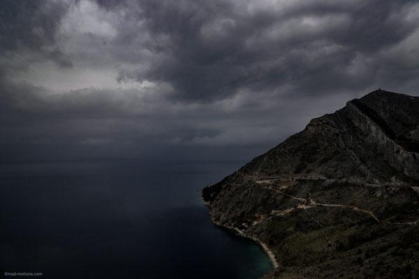 Kroatische Steilküste