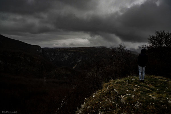 Miiiiiieses Wetter in Montenegro