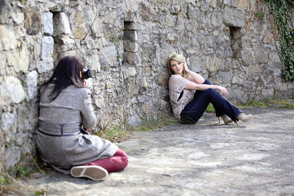 Outdoor Shooting mit Dani + Florian