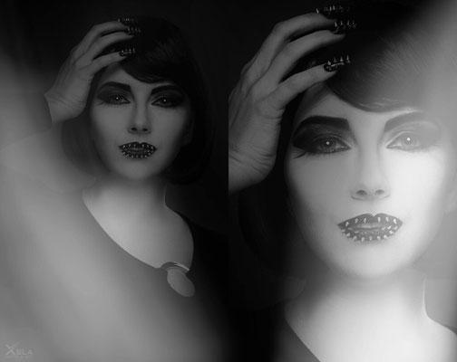 Studio Shooting mit Fotografin Alex Xela, Visa: Daniela Steindl