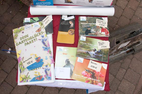 Gartenglückspacket und vieles mehr ... (Foto: B. Budig)