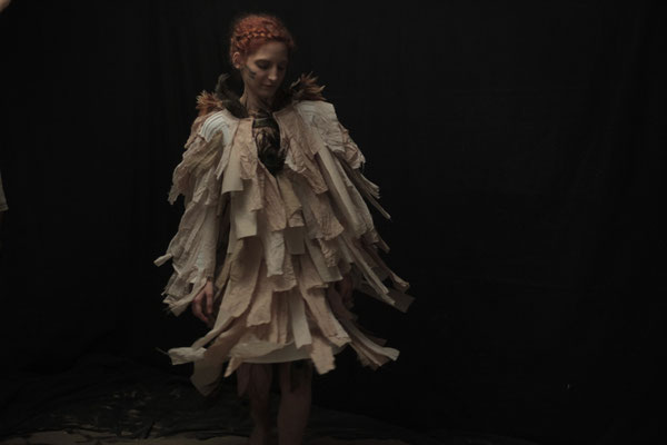 making of dress for music video