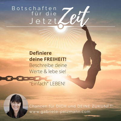 Botschaften der JetztZeit von Mag. Gabriele Pelzmann