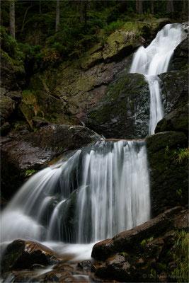 Riesloch-Wasserfälle bei Bodenmais / Bayerischer Wald