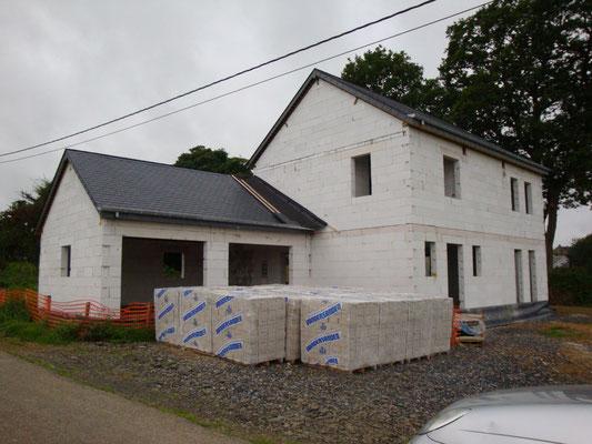 Maison en blocs de béton cellulaire