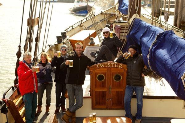 Meezeilen tijdens de Sail Evenementen