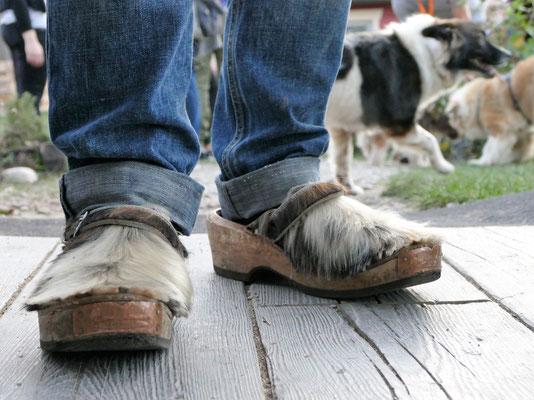 Foto: Michaela Hilburger, Die besten Schuhe ever :-). Nein, ist kein Elofell!!!