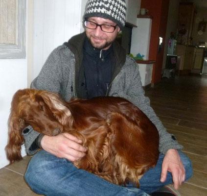 Tja, und mit dem Sohn unseres R-chen-Besuches hatte Ginger auch null Berührungsängste.