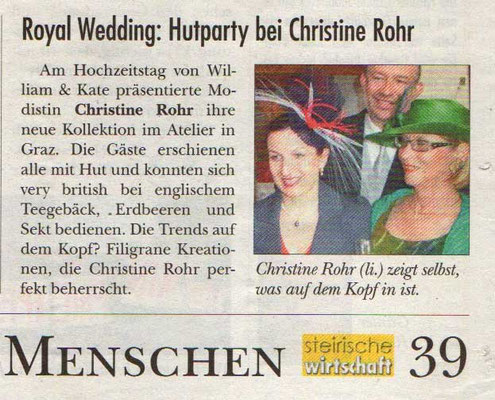 ROYAL WEDDING PARTY - Steirische Wirtschaft