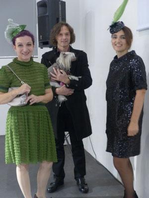 Christine Rohr, Herbert Wetzelhütter, Elisabeth Sommerbauer, Foto: Kathrin Felle