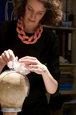 Kronen & Diademe 2015 - International Academy of Millinery - Christine Rohr - Schule für Modellmodisterei und Textildesign